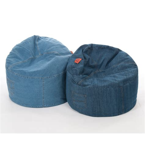 Most Comfortable Bean Bag Chair by Furniture Denim Cool Bean Bag With Pocket With Most