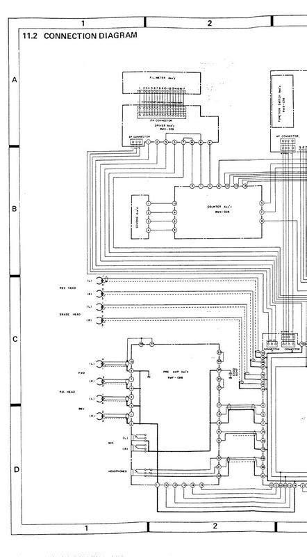pioneer rt  original schematic  originals prints
