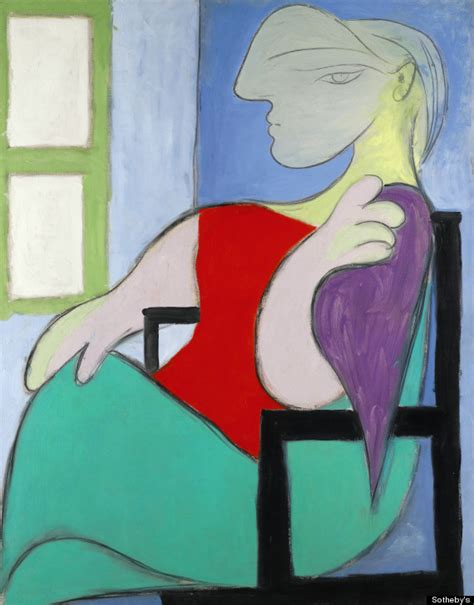 what are picasso paintings worth picasso portrait of therese walter sells for