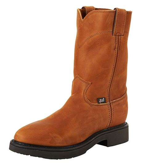 comfortable work boots top 5 best pull on work boots for a comfortable and