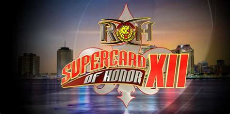 roh themes list roh announces supercard of honor for 2018 wrestlemania