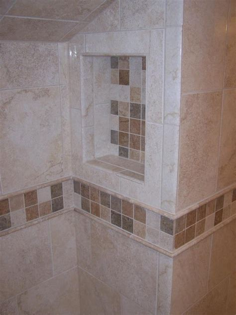 bathroom niche ideas shower niche back tiling idea for the home