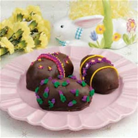 Handmade Chocolate Easter Eggs - chocolate easter eggs recipe taste of home