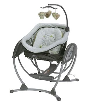 fully reclining baby swing my review of the graco dreamglider swing sleeper the