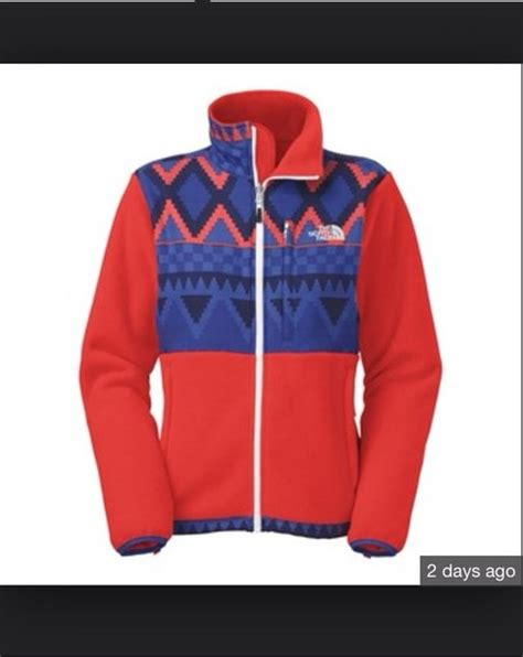 tribal pattern outerwear jacket north face the north face jacket aztec tribal