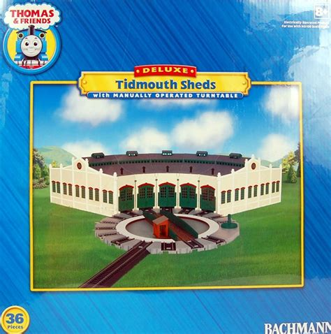 Bachmann Tidmouth Sheds by Bachmann Ho Scale Friends Tidmouth Sheds With Turntable 45236 Ebay