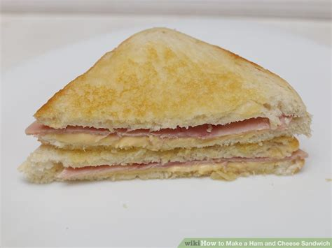 ham cheese sub sandwich 4 ways to make a ham and cheese sandwich wikihow