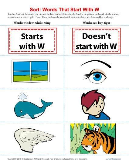 6 Letter Words With W