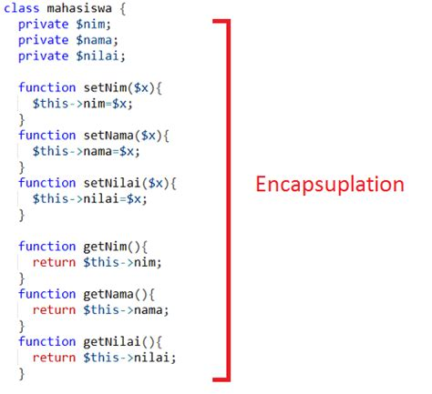 membuat setter dan getter di java memahami fungsi setter getter pada penerapan encapsuplation