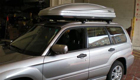Subaru Forester Luggage Rack by Subaru Forester Rack Installation Photos