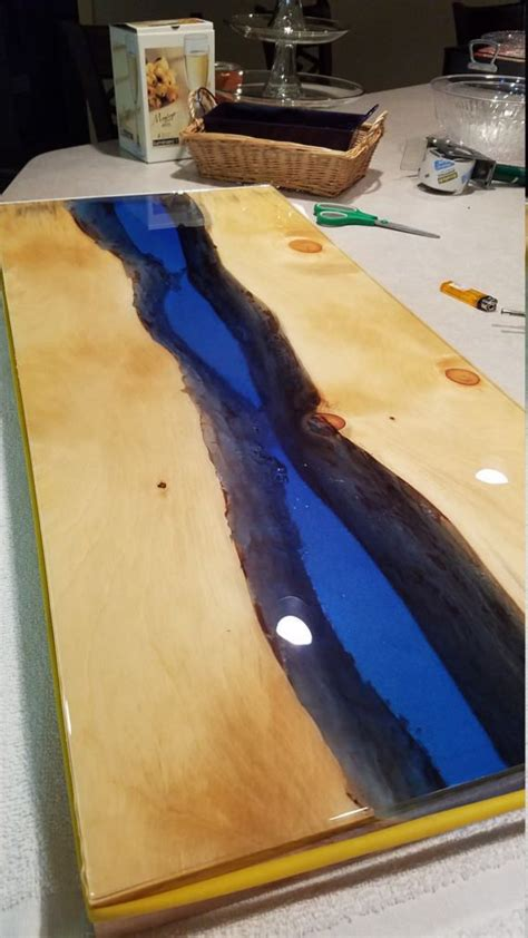 live edge river table epoxy river table live edge table epoxy river table coffee