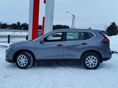 grey nissan rogue 2017 2017 nissan rogue s grey for 27296 in orillia simcoe com