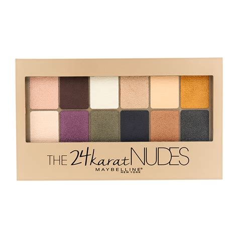 Maybelline Palette maybelline new york 24 karat eyeshadow palette