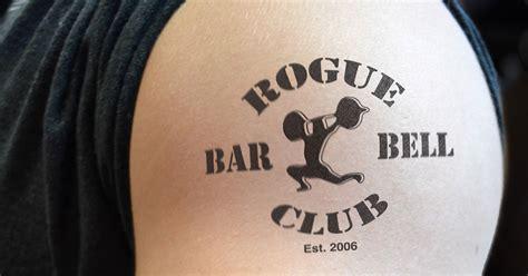 crossfit tattoo rogue fitness tattoos temporary tats crossfit