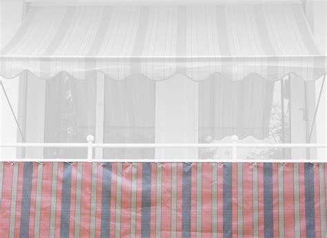 markisen paradies gutschein balkonbespannung 75 cm design nr 1300 braun terra