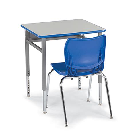 Single Student Desk Planner Classroom Furniture Desk For Student