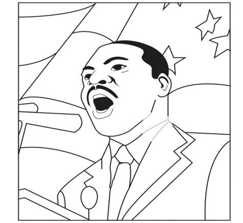 coloring pages martin luther king jr 52 best famous people coloring pages images on pinterest