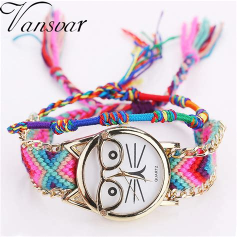 Fashion Handmade - vansvar brand fashion handmade braided friendship bracelet