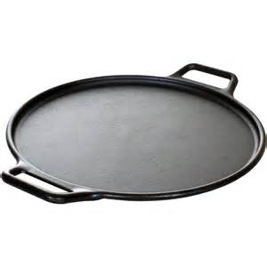 Lodge 14 inch seasoned cast iron pro logic pizza roasting pan p14p3