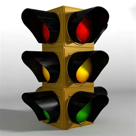 stop light jesscentric 3d stop light prop