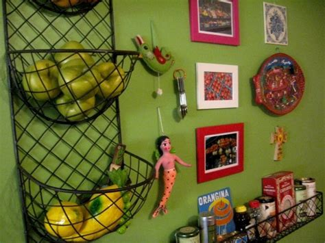 Wall Mounted Fruit Basket: Decorative and Functional Wall