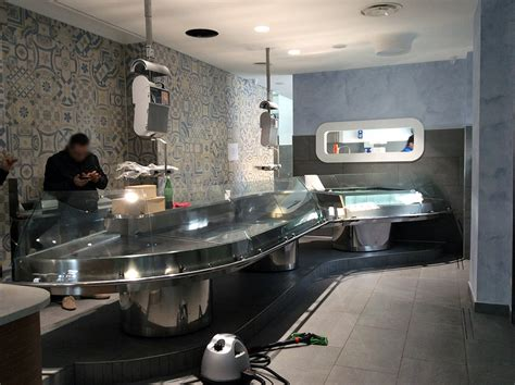banchi pescheria arredamenti per pescherie e banchi pescheria per supermercati