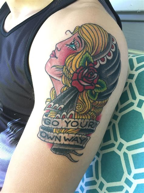 fleetwood mac tattoo my fleetwood mac tribute done by josh mcdowell at
