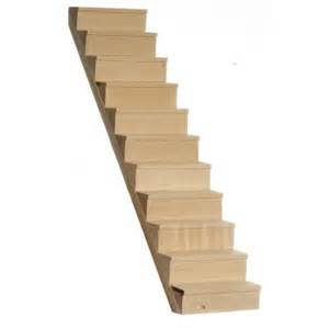 Dollhouse Stairs by Staircase W Treads 10inc Dollhouse Stairs Superior