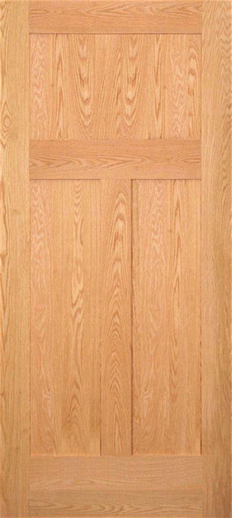 3 Panel Oak Interior Doors by Craftsman 3 Panel Oak Door Traditional Interior