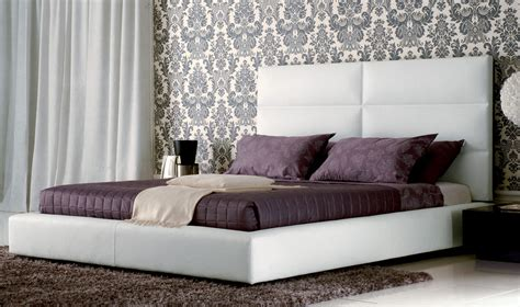 modern padded headboard modern headboards lacquered fashionable wood platform and