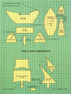 pirate ship cut out template where to get how to build a viking boat out of cardboard