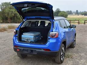 Jeep Compass Trunk Space Ratings And Review 2017 Jeep Compass Trailhawk Ny Daily