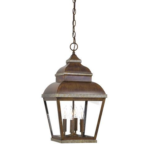 Outdoor Patio Hanging Lights Great Outdoors By Minka Mossoro 4 Light Outdoor Hanging Lantern Reviews Wayfair