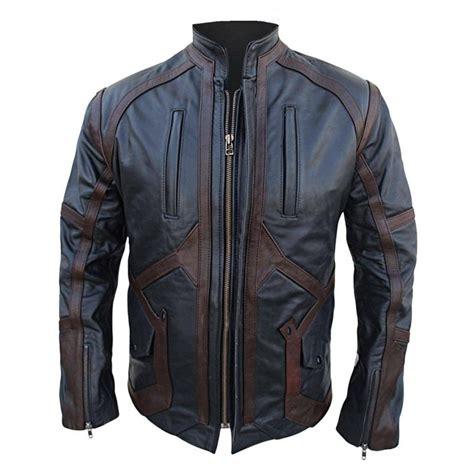 Jacket Captain America winter soldier bucky barnes leather jacket captain