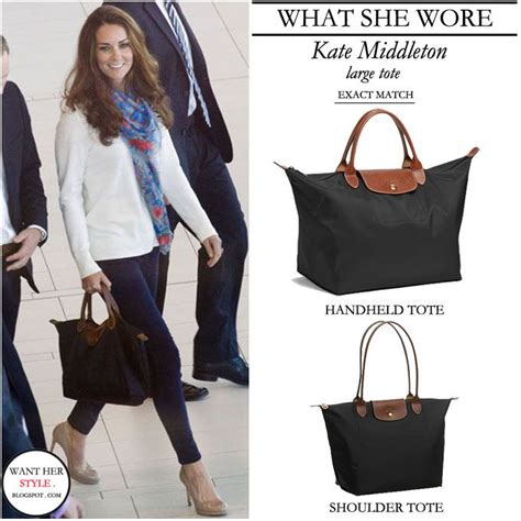 Longch Leather 1 what she wore kate middleton with medium size longch