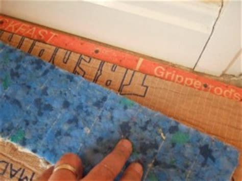How To Fix Carpet Gripper To Concrete Floor by Mr Carpet Underlay