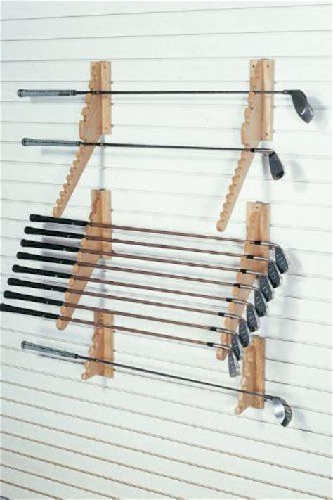 Golf Club Storage Racks by Fa Edmunds Wall Mount Downslat Golf Club Set Holder