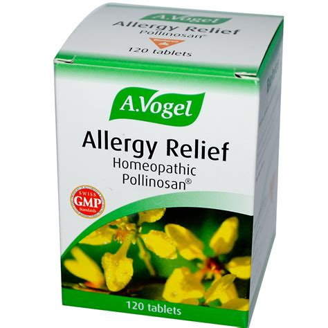allergy remedies a vogel allergy relief 120 tablets iherb