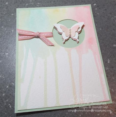 watercolor drip tutorial watercolor drip technique card by gwtw junkie at