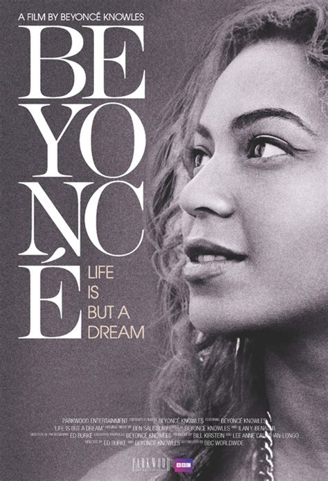 biography movie movie poster for beyonc 233 life is but a dream flicks co nz