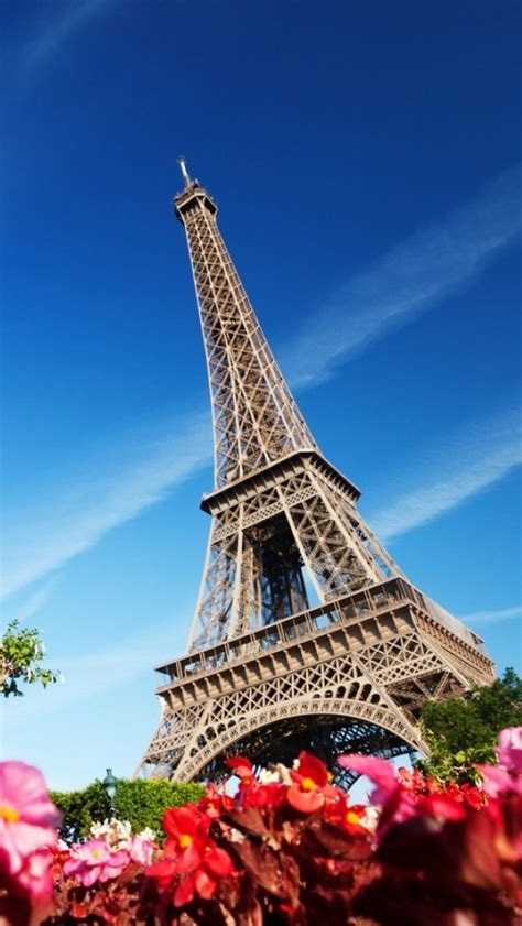 Home Of The Eifell Tower Wallpapers For Iphone 5 Find A Wallpaper Background Or