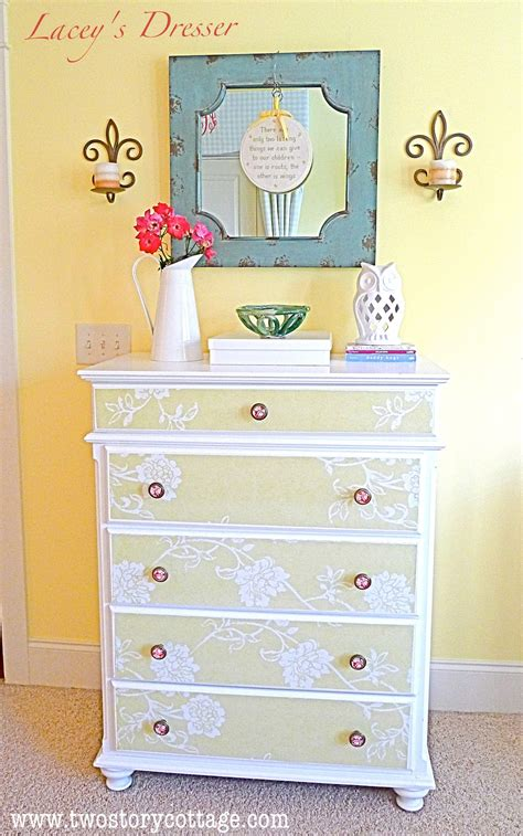 Wallpaper On Dresser by Wallpaper Dresser Tutorial Complete With Don Ts