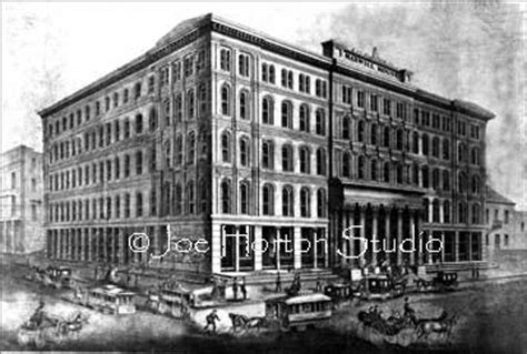 Maxwell House Hotel by Nashville Historic Prints Maxwell House Late 1800 S