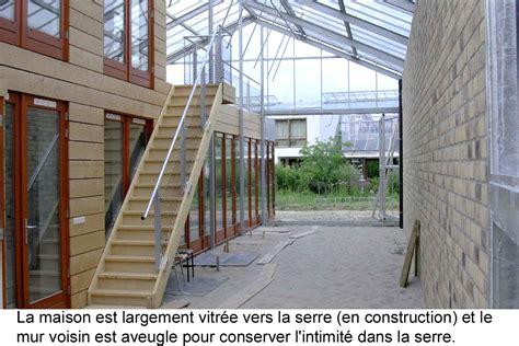 serre maison maison solaire passive avec serre pour pays froids