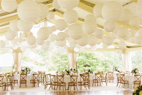 white paper lanterns wedding reception decor eventdecorator backyard wedding wedding ideas