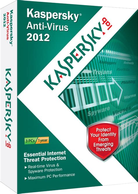 Sale Kaspersky Anti Virus 2012 3pc Software And More Free Kaspersky Anti