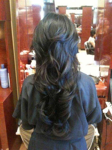 layer hair irvine ca long hair w short layers yelp