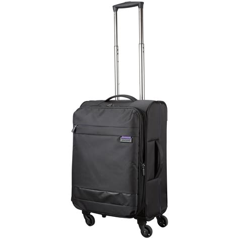 lewis cabin luggage lewis x air 2 4 wheel 56cm cabin suitcase in black