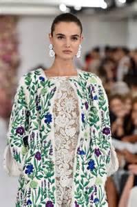 Oscar de la renta runway mercedes benz fashion week spring 2015