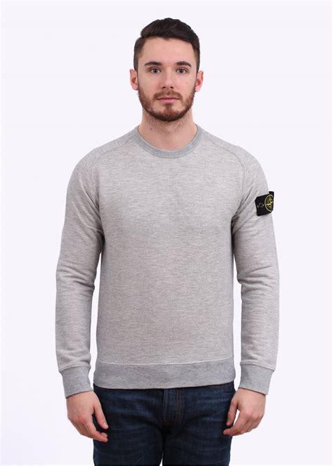 island crew sweater pearl grey
